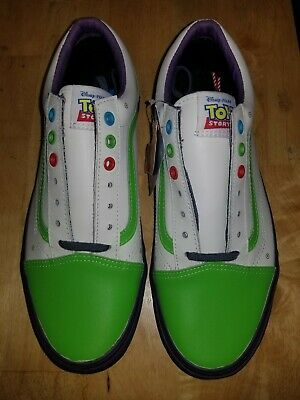 80336b6f1830 Rare Vans Old Skool Buzz Lightyear Toy Story Andy Shoes Pixar Disney Mens  Sz 10