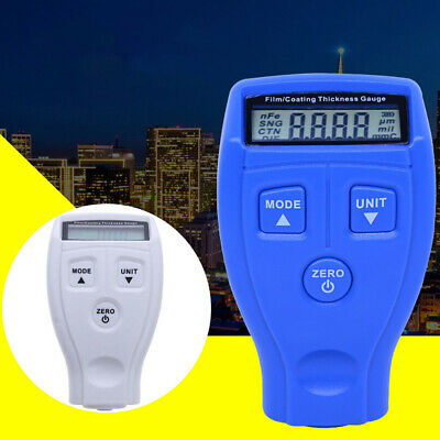 Portable Mini Digital Paint Film Meter Tester Coating Measure Thickness Gauge