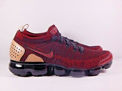 Nike Air Vapormax Flyknit 2 NRG Team Red Black AT8955-600 Size 9.5 LIMITED