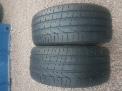 Part Worn Tyre 2x 255/35/20, Summer, Pirelli P Zero 92Y AO