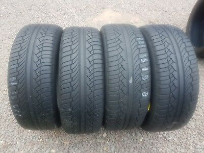Part Worn Tyres 4x 225/55/18 Summer 4x Michelin latitude diamonds 98V