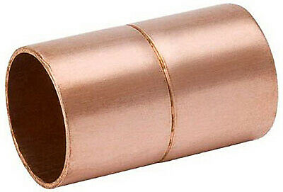 B&K W 61047 1-Inch Wrot Copper Coupling With Stop