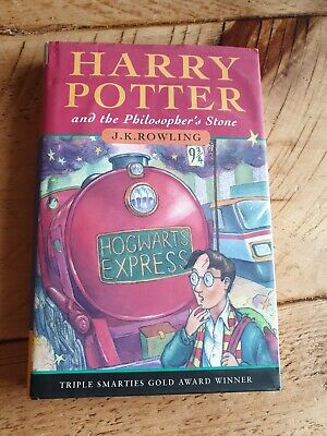 Harry Potter And The Philosophers Stone First Edition 21st Print Hardback book