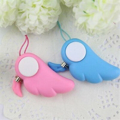 Women Safety Alarm Anti-Attack Rape Security Self Defense Keychain Panic Loud US