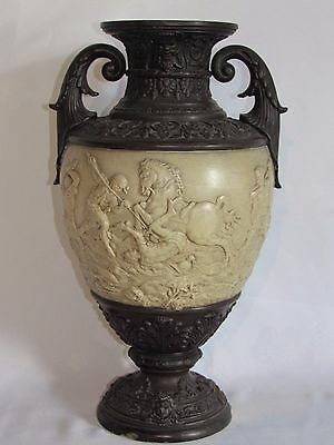 04D58 Antique Vase Terracotta Time Louis Philippe Decoration Neo Renaissance