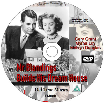 Mr Blandings Builds His Dream House - Cary Grant, Myrna Loy Film DVD 1948