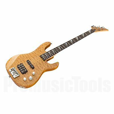 Charvel USA Custom Shop Dinky Bass - Natural * NEW (NOS) * jackson