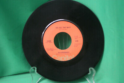 Raspberries - Go All The Way & With You In My Life - 7 inch 45 RPM