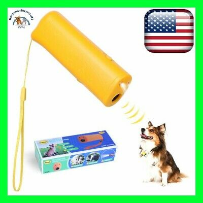 Ultrasonic Barking control Device Trainer 3 In 1 Anti Barking Stop Bark Pet Dog
