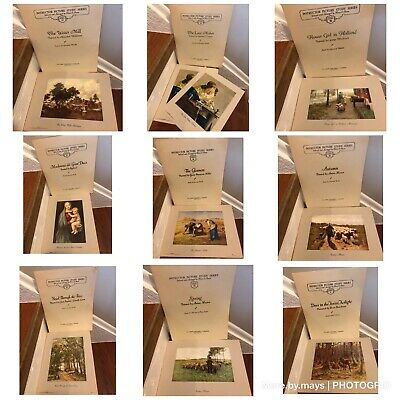 9 Sets Instructor Picture Study Series Mary E. Owen FA Publishing Old Paintings