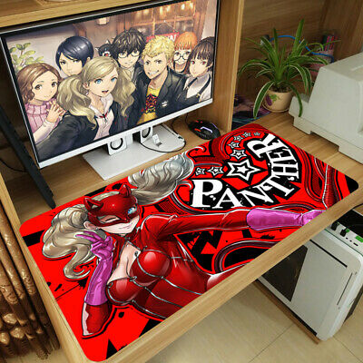 40x70cm Persona 5 Anime Desk Mouse Pad Large Keyboard Mice Pad Gaming Play Mat