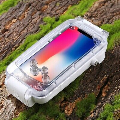 40M Waterproof Case Underwater Diving Swimming Protective Cover For Iphone X Fa