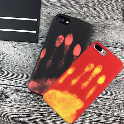 Hot Sale Thermal Sensor Case for iphone 6 7 8 Plus X Heat Induction Phone Cover