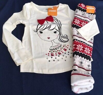 4b63e1f85 NWT GYMBOREE HOLIDAY Shop Christmas Sleeper Footed Pajamas Baby ...