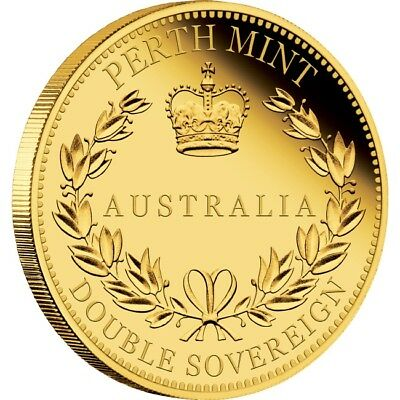 2018 Australia Double Sovereign Gold Proof Coin