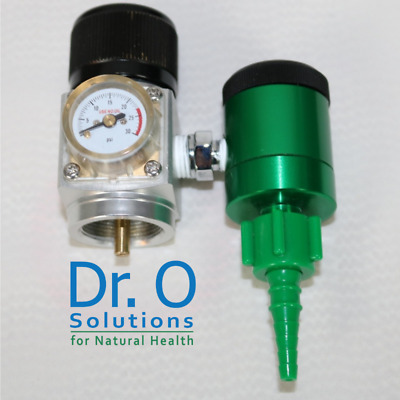 Low Flow Oxygen Regulator 1/32 - 4 L/m For Disposable Bernzomatic Oxygen Tank