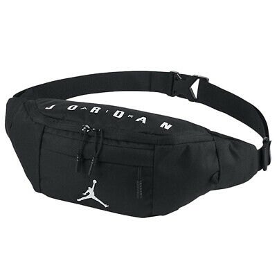 Nike Air Jordan Crossbody Bag Backpack Black Waist Bag Fanny Pack 9A0242-023 492b4e67b40ea
