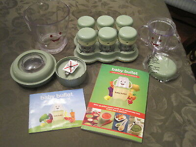 Magic Bullet Baby Bullet Baby Food Maker Processor Storage System 21 pieces