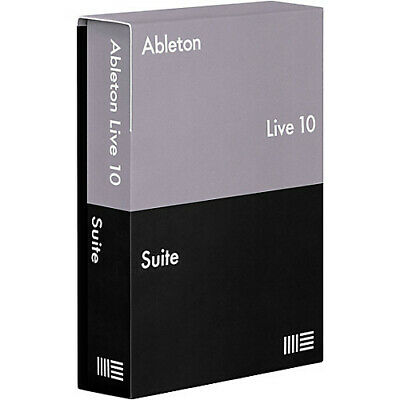 Ableton LIVE 10 SUITE Music Production Recording Software DAW Mac PC Boxed