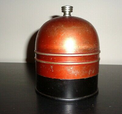 Art Deco Machine Age 1935 Cigarette Dispenser  (marked & patented w/ #'s)