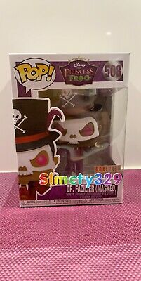Funko Pop Disney Dr. Facilier MaskedBox Lunch Exclusive Non Chase Princess Frog