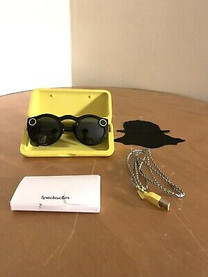 Snapchat Spectacles Black Smart Glasses 1.0