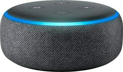 Amazon Echo Dot (3rd Generation) Smart Assistant - Charcoal Fabric- NOT AVAILABL