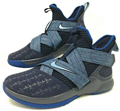 "online store 60048 88722 NIKE LEBRON SOLDIER 12 XII ""Anchor"" Blue Basketball Shoes Size 13  (AO2609-401)"