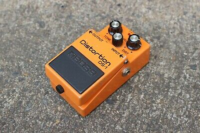 1987 Boss DS-1 Distortion MIJ Vintage Effects Pedal