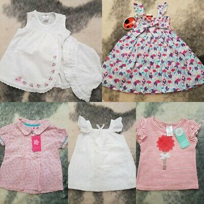 Baby Girls Clothes, Tops, Bundle Size 0 / 1 New & EUC