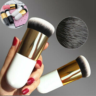 Mini Chubby Pier Foundation Brush Flat Cream Makeup Brushes Pro Cosmetic Make up