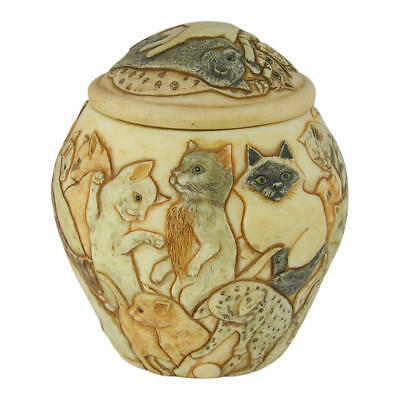 Perfect Memorials Cats Galore Pet Cremation Urn