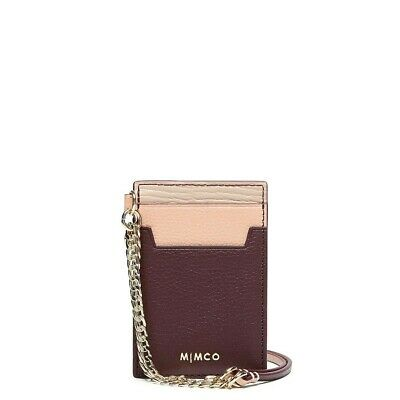 *Authentic* MIMCO Classico lanyard wine card holder *CURRENT STYLE* RRP$99