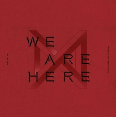 MONSTA X - WE ARE HERE [III ver.] CD+PO Benefit+Poster+Gift+Tracking no.