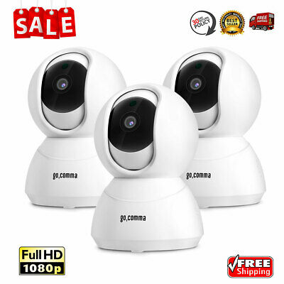 3X 1080P WiFi Wireless Security IP Camera Baby Monitor 2-Way Audio Night Vision