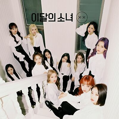 MONTHLY GIRL LOONA - X X [Normal B ver.] CD+Folded Poster+Free Gift+Tracking no.