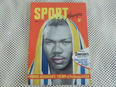 Sport Magazine *july 1954* Rare Collectable