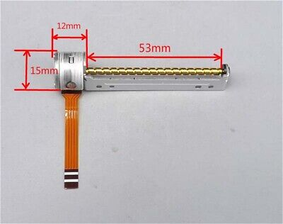 1x DC 5V 2-Phase 4-Wire Mini Stepper Motor 18° Linear Lead Slide Screw Stage,DIY
