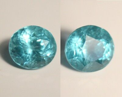 3.07ct Neon Blue Apatite - Large Clean Custom Cut Gemstone