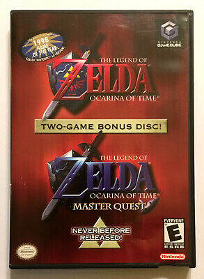 The Legend of Zelda: Ocarina of Time Master Quest - Complete - Nintendo GameCube