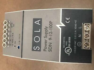 SOLA HD Power Supply SDN 9-12-100P
