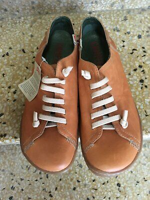 CAMPER Size 39 'Peu Cami' Leather Shoes
