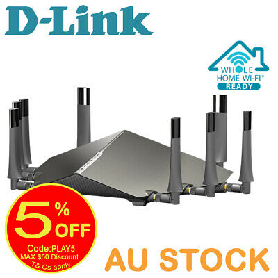 D-Link COBRA AC5300 Modem Router (DSL-5300)- NBN Ready