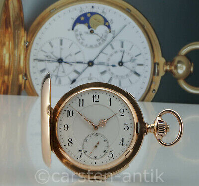 Louis Audemars Heavy hunter with minute repeater sold to Dürrstein 1884 Inc Book