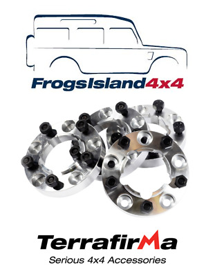 TF301 TERRAFIRMA SET OF4 WHEEL SPACERS 30mm FOR LAND ROVER DEFENDER ALL MODELS