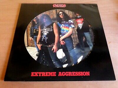 Kreator, Extreme aggression, Vinyl picture disc LP, thrash metal VERY RARE,EX/NM