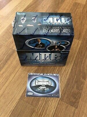 Sealed Box Of Men In Black Trading Cards
