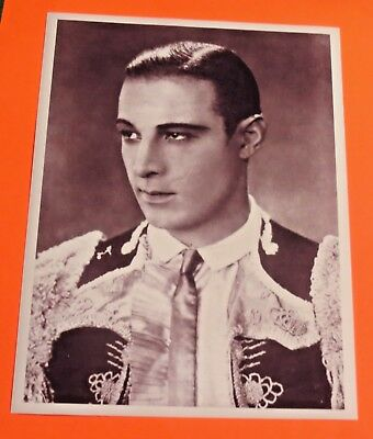 Vintage Photos 1995 Photo Actor Cossack Officer Eagle Rudolph Valentino Legendary Silents 8X10