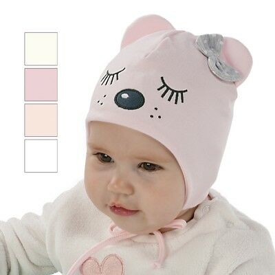 Brand New Cotton Soft Tied Hat For Autumn Spring For Girl/toddler/baby Warm Cute