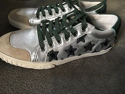77a5232834c54 ASH MAJESTIC STARS Womens Trainers Leather Shoes NEW Size 37 UK4